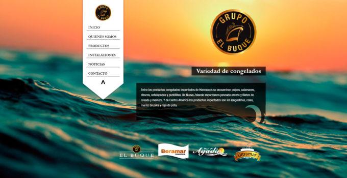 ¡Grupo Pescados el Buque tiene nueva WEB!